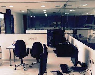 Uno de los espacios de Dental López Laboratorio dedicados a CAD-CAM
